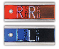 "R & L 1/2"" Elite Style Copper Filtered X-ray Markers"
