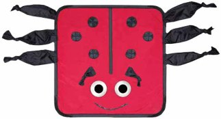 Kiddie Kover X-ray Blanket - Lady Bug