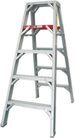 MRI Non-Magnetic Double Sided Aluminum Step Stool Ladder