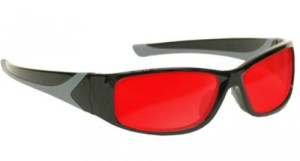 Argon Alignment Laser Safety Glasses - Model #808 - Black
