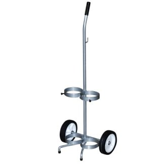 MRI Non-Magnetic Dual Oxygen Cart