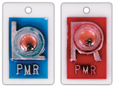 "R & L Identifier Style 7/8"" Position X-ray Markers"