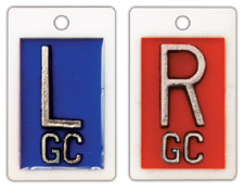 """R & L 1"""" Poly X-ray Film Markers"""