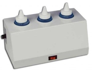 Gel Warmer: Triple Bottle Unit