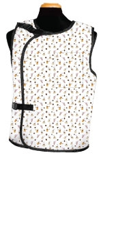 Bar-Ray Vest with Buckle X-ray Apron - Female