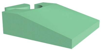 Endo Ultrasound Wedge with Stealth-Cote - NEW Firm Foam