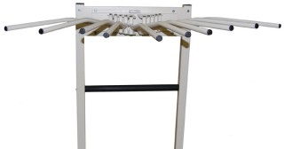 Techno-Aide Mobile X-ray Apron Rack - Standard