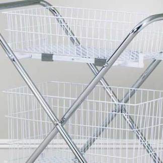 "Two 6"" Baskets for the TC-233 Folding Cart"
