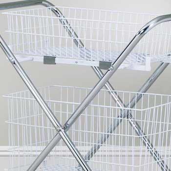 """Two 6"""" Baskets for the TC-233 Folding Cart"""