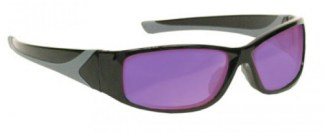 Vbeam, Vbeam2, Dye Filter Laser Safety Glasses - Model #808 - Black