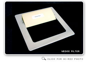 Wedge X-Ray Filter