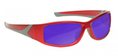 Dye, Diode and HeNe, Ruby Laser Safety Glasses - Red