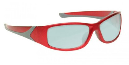 AKG-5 Holmium/Yag/Co2 Laser Safety Glasses - Model #808 - Red
