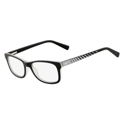 Nike 5509 Radiation Protection Glasses - Satin Black / Gray