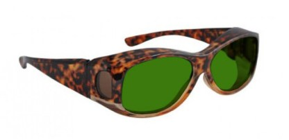 Phillips Fitover Glassworking Safety Glasses - BoroView 3.0 - Tortoise
