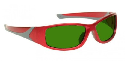 Model 808 Glassworking Safety Glasses - BoroView 3.0 - Red