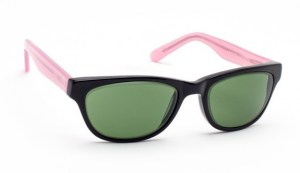 Geek Cat 01 Glassworking Safety Glasses - BoroView 3.0 - Pink and Black