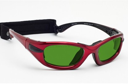 Model EGM Glassworking Safety Glasses - BoroView 3.0 - Red