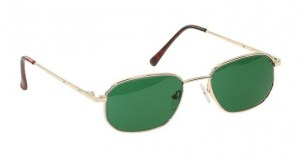 Economy Gold Metal Glassworking Safety Glasses - BoroView 3.0