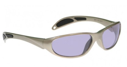 Model 208 Glassworking Safety Glasses - Phillips 202 ACE - Taupe
