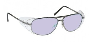 Model 600 Glassworking Safety Glasses - Phillips 202 ACE - Pewter