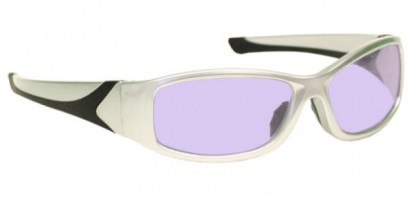 Model 808 Glassworking Safety Glasses - Phillips 202 ACE - Silver