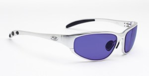 Model 533 Glassworking Safety Glasses - Polycarbonate Sodium Flare - Silver