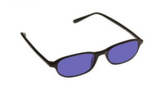 Model Downtown Designer Glassworking Safety Glasses - Polycarbonate Sodium Flare - Black