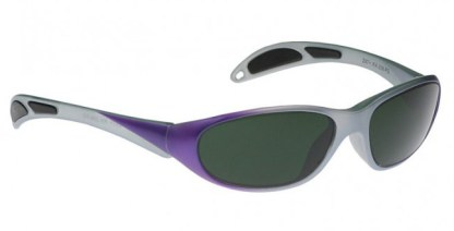 Model 208 Glassworking Safety Glasses - BoroView 5.0 - Purple Gray