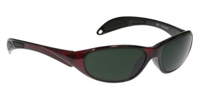 Model 208 Glassworking Safety Glasses - BoroView 5.0 - Red