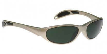 Model 208 Glassworking Safety Glasses - BoroView 5.0 -Taupe