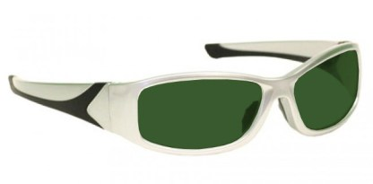 Model 808 Glassworking Safety Glasses - BoroView 5.0 - Silver