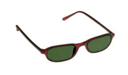 Downtown Designer Glassworking Safety Glasses - BoroView 5.0 - Burgundy