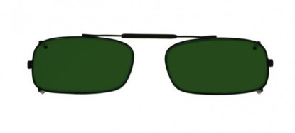 TruRec Clip-On Glassworking Safety Glasses - BoroView 5.0