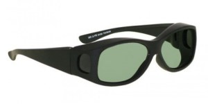 Phillips Fitover Glassworking Safety Glasses - Light Green Filter