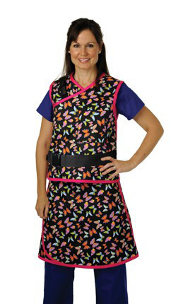 Protech Medical Vest Skirt Flexback Combo with Full Overlap Apron