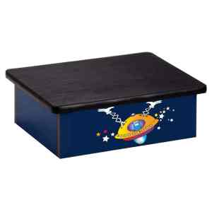 Step Platform - Pediatric - Fun Space Alien