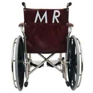 """18"""" Wide Non-Magnetic MRI Wheelchair w/ Flip Back Arms and Detachable Elevating Legrests"""