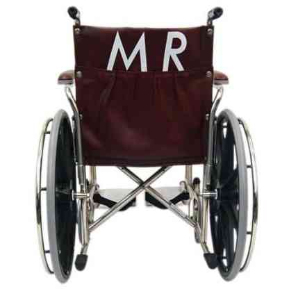 "20"" Wide Non-Magnetic MRI Wheelchair w/ Detachable Footrests"