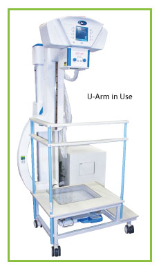 2-Step Platform for C-Arm and U-Arm Systems