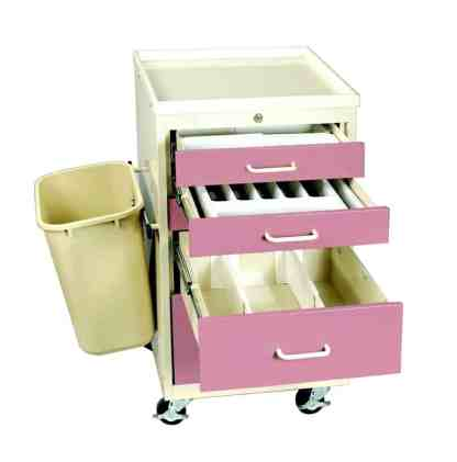 Anesthesia Carts (Mini Electronic Lock - 5 Drawer Cart) - TMV-PK