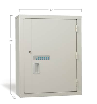 Large High-Security Narcotic Storage Cabinet