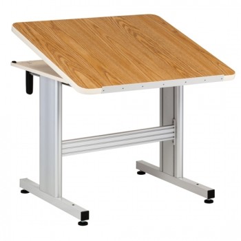 Hand Crank Physical Therapy Table with Tilt Top