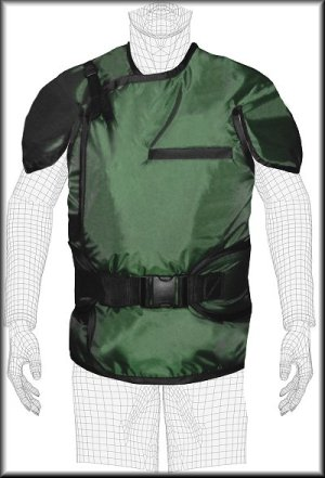 Techno-Aide Opti Guard X-ray Safety Vest - Male