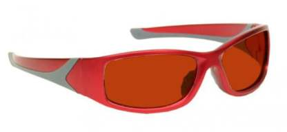 YAG Argon Alignment Laser Safety Glasses - Model #808 - Red