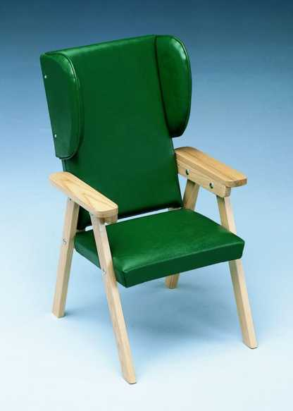 "Model 155 - Kinder Chair - 18"" Back - With Headwings"