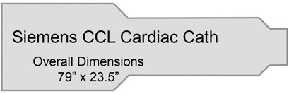 Siemens CCL Cardiac Cath Table Pad