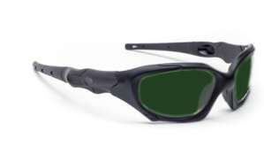 Model 1205 Quartz Working Shaded IR Safety Glasses - Black