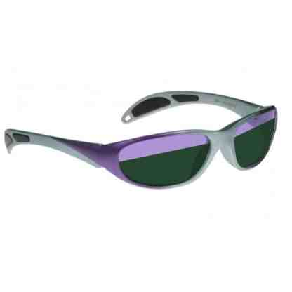 Model 208 Glassworking Split-lens Safety Glasses - Purple / Grey