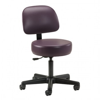 Key Series Economic 5-Leg Pneumatic Stool with Backrest